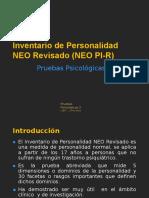 1. NEOPI - Presentación de la prueba