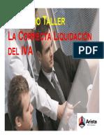 La Correcta Liquidacion Del IVA - Bolivia