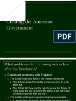 creating the american government
