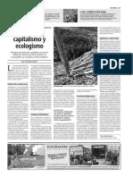 Urbanismo, Capitalismo y Ecologismo