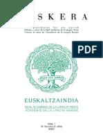 Euskera 2008