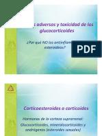 Efectos Adversos y Toxicidad de Los Glucocorticoides Mtro Rodrigo Guzman