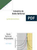 Industria Del Acido Sulfurico