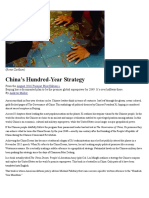 China's Hundred-Year Strategy