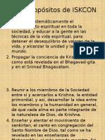 Los 7 Propósitos de ISKCON