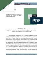 Resenha SAQUET, Marcos Aurélio. Abordagens e concepções de território. São Paulo