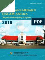 Kota Banjarbaru Dalam Angka 2016