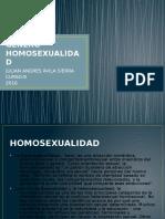 Genero Homosexualidad