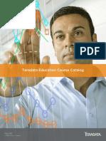 Teradata Education Course Catalog 2H2015 - Americas