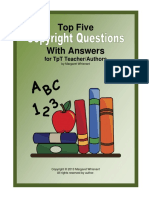 Top 5 Copyright Questions Fort Pt Teacher Authors