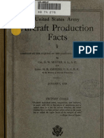 (1919) United States Army Aircraft Production Facts