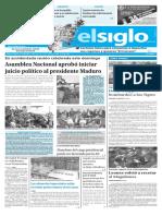 Edición Impresa El Siglo 24-10-2016