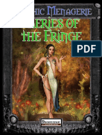 Mythic Menagerie - Faeries of the Fringe