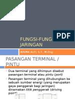 3 Fungsi-fungsi Jaringan