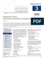 TX of Endodontic Emergencies