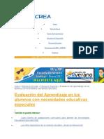 Factores Relevantes en El Logro de Aprendizajes en Niños y Niñas Con DEA.