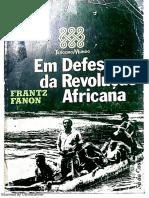 Em Defesa Da Revolução Africana - Frantz Fanon
