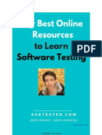 Best Online Resources to Learn Software Testing