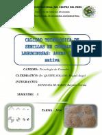 Informe de Calidad Tecnologica de La Avena _ Espinoza Huaman Betzabe
