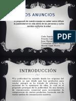 Proyecto Español. Anunciantes