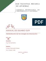 Manual de Usuario GLPI