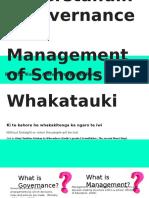 understanding governance and management of schools
