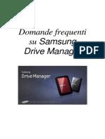 ITA_Samsung Drive Manager FAQ Ver 2.5