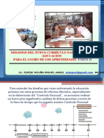 Desafios Del Curriculo Nacional Segunda Clase Vitarte