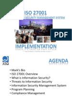 ASQ ISO 27001 Presentation v01r01