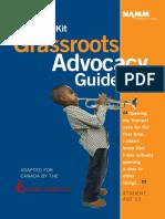 Grassroots Advocacy 2015