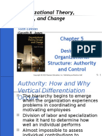 Part 5 - Designing Organizational Structure (Authority & Control)
