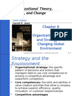 Part 8 - Organizational Designing & Strategy in a Changing Global Environment