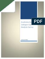 Academia Industry Linkages Gap Analysis Pakistan