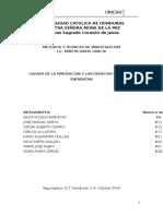 Investigación Migración Honduras