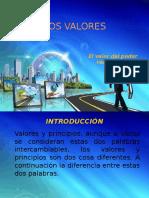 TALLER de Valores y Principios