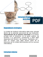 Estructura Auditoría Informática
