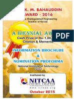 NITCAA Information Brochure