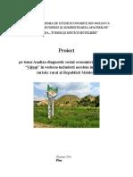 Proiect TR,Văleni,Moldova