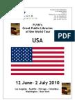 USA Library Tour 2010