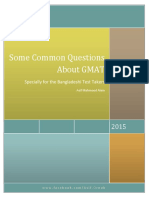 Some Common Questions About GMAT v2