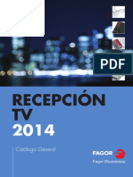 Catalogo Recepcion TV Fagor 2014