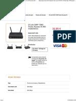 D-Link DAP-1360 Punto Acceso N 300 Inalámbrico en Preciorecord. Tienda online Palma de Mallorca.pdf