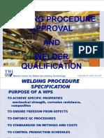 8 - Welding Procedures Summary