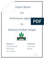 NflPerformance Appraisal