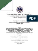 Blanqueamiento Dental, Estudio CientificoUNACH EC ODONT 2015 0005