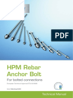 HPM Rebar Anchor Bolts Peikko Group 01-2015