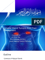 Adrenal Gland Tumours and their Management