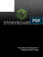 Toon Boom Storyboard Pro Getting Started Guide