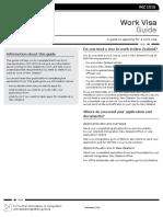 NZ Work Visa Guide (INZ 1016)