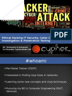 Etchcal Hacking and Cyber crime Investigation